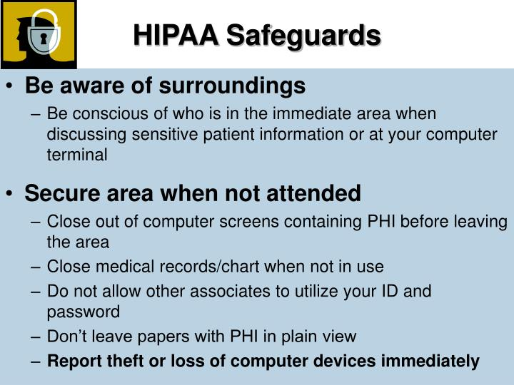 HIPAA Safeguards