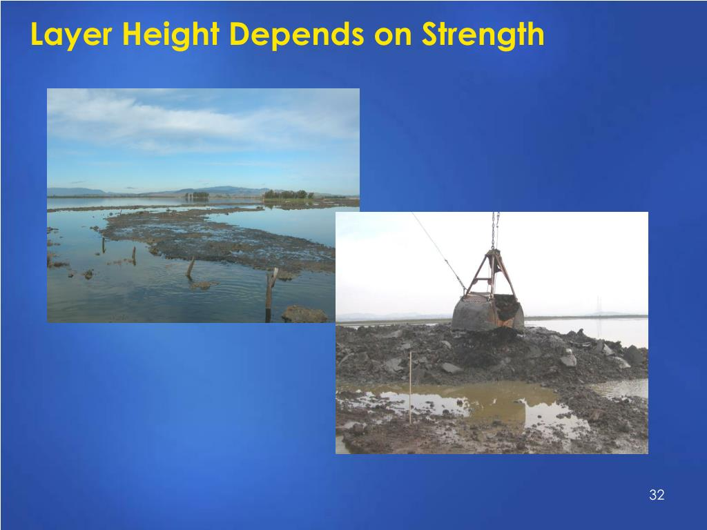 Layer Height Depends on Strength