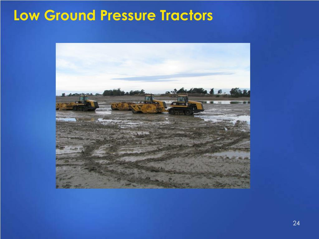 Low Ground Pressure Tractors