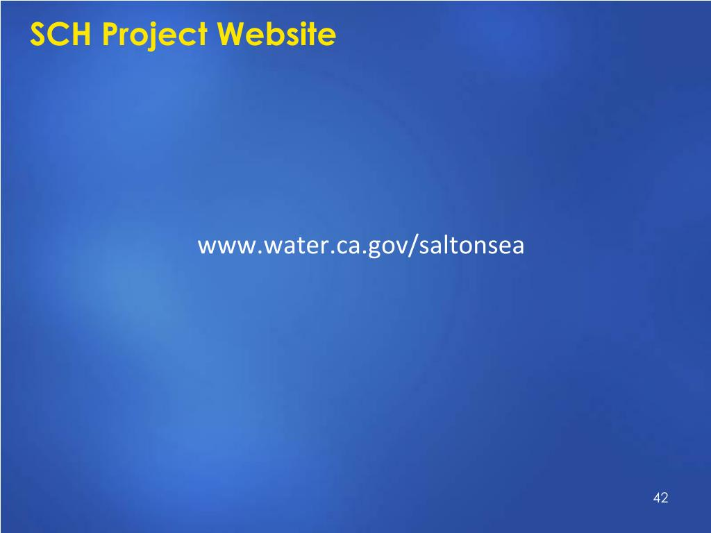 SCH Project Website