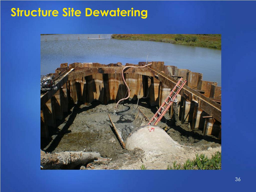 Structure Site Dewatering
