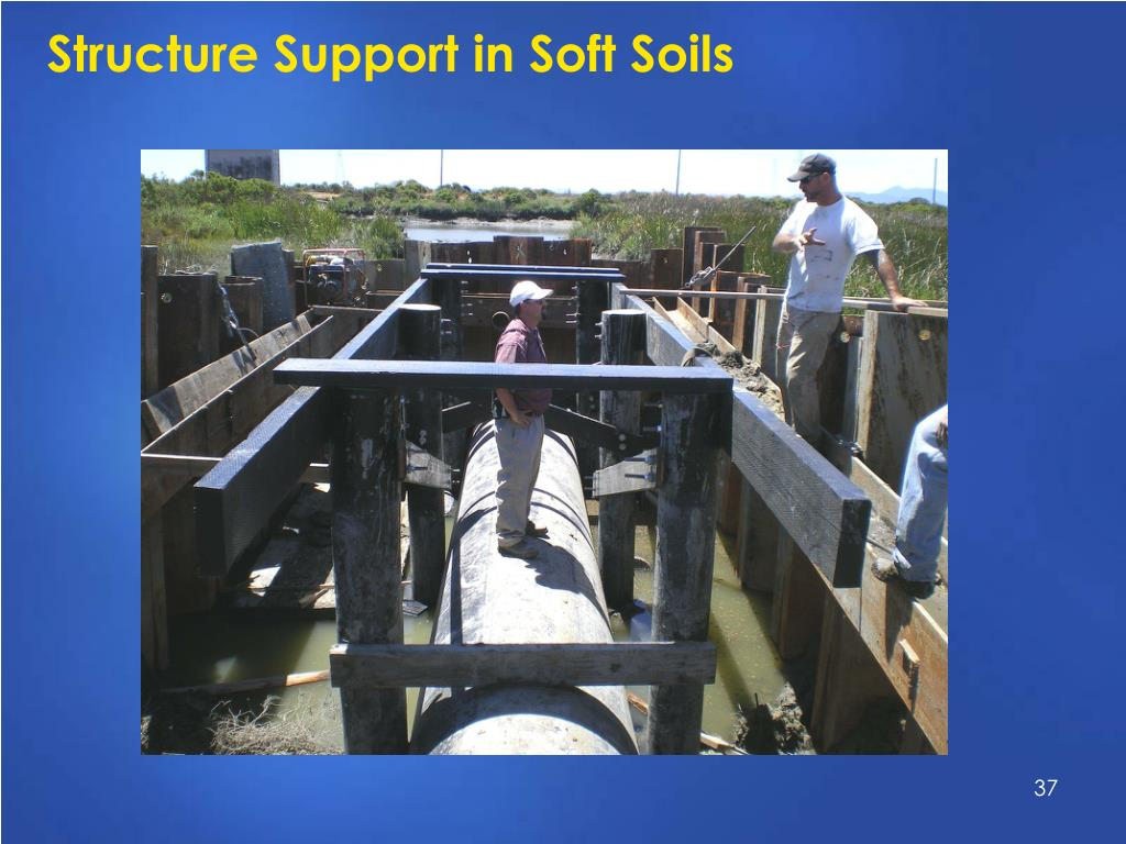 Structure Support in Soft Soils