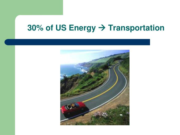 30 of us energy transportation