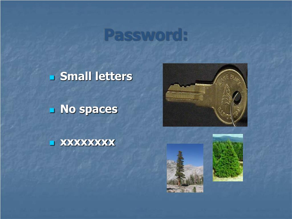 Password: