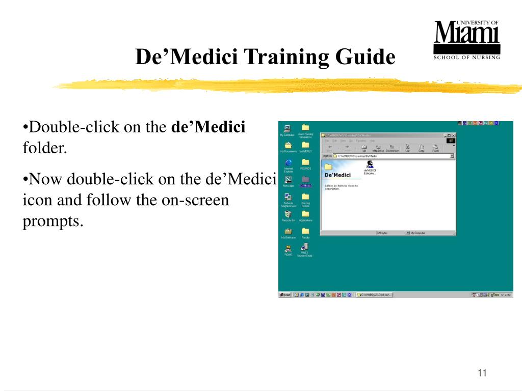 De'Medici Training Guide