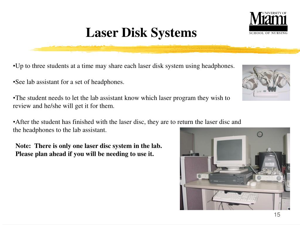 Laser Disk Systems