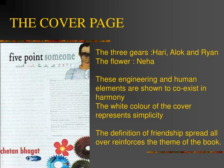 THE COVER PAGE