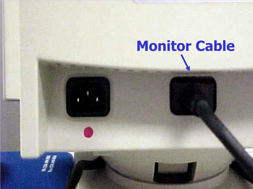 Monitor Cable
