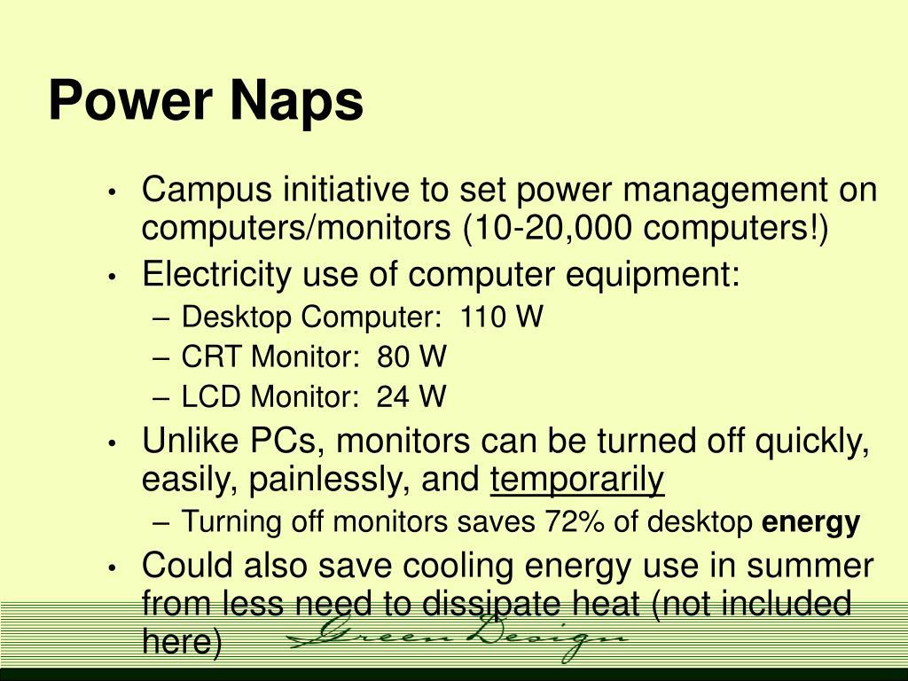 Power Naps