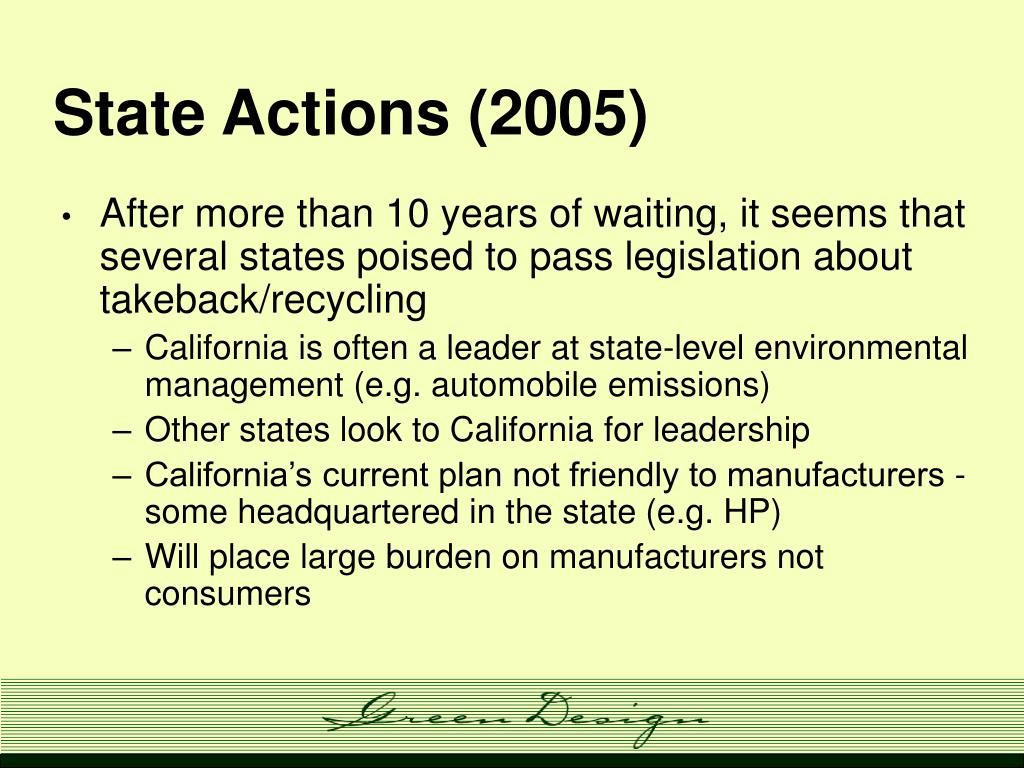 State Actions (2005)