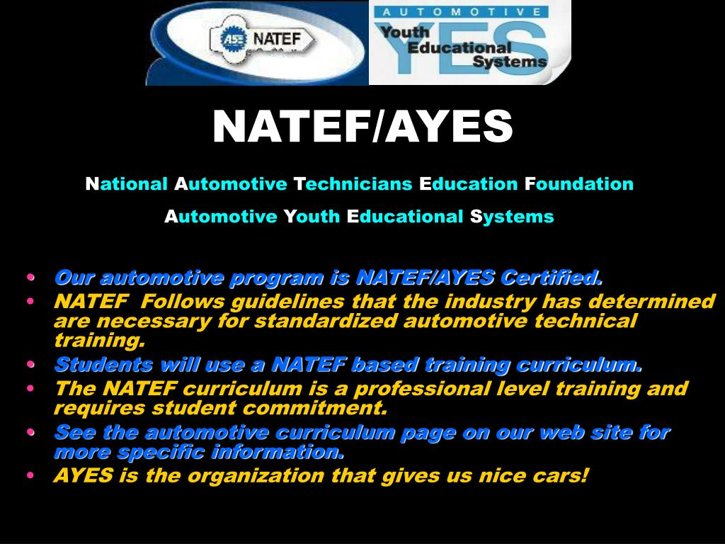 NATEF/AYES