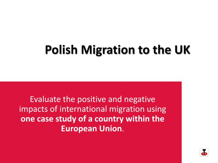 Polish migration to the uk