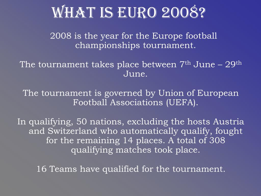 What is Euro 2008?