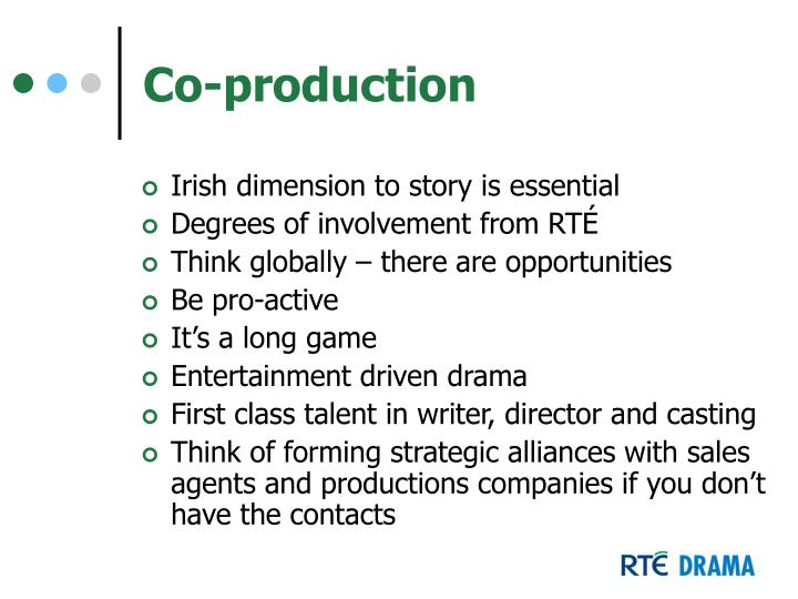 Co-production