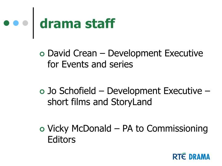 drama staff