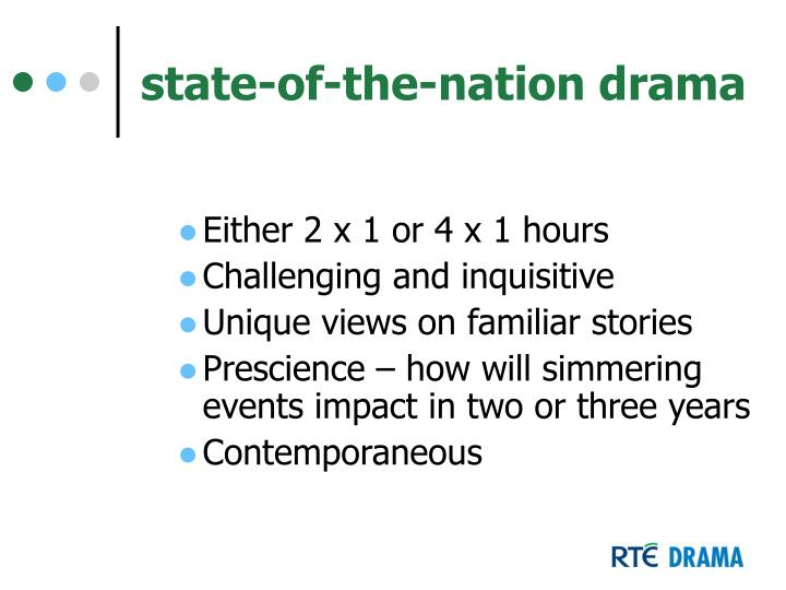 state-of-the-nation drama