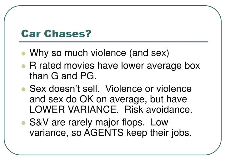 Car Chases?