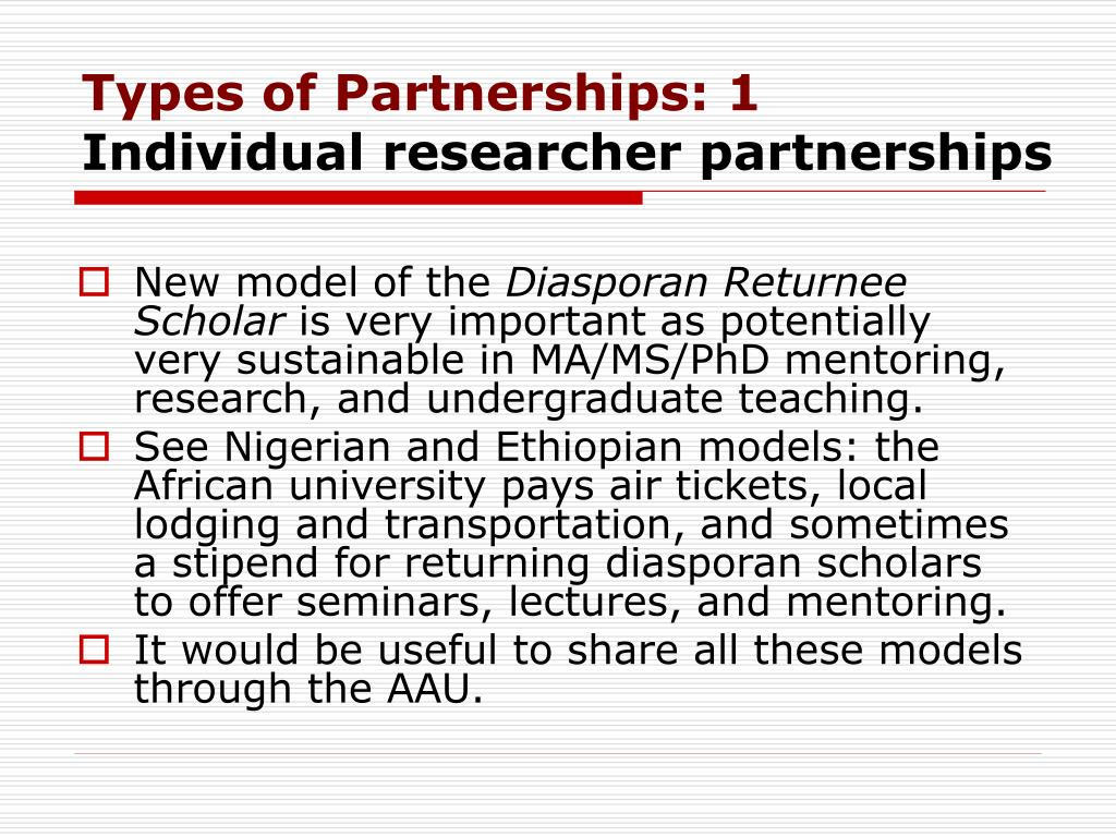 Types of Partnerships: 1