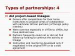 types of partnerships 4
