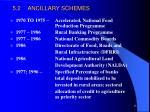 5 2 ancillary schemes
