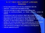 6 1 2 1 self help group linkage banking