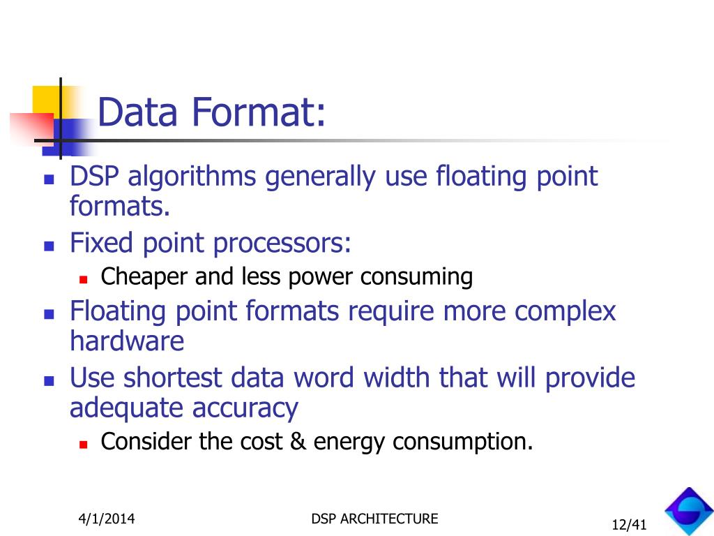 Data Format: