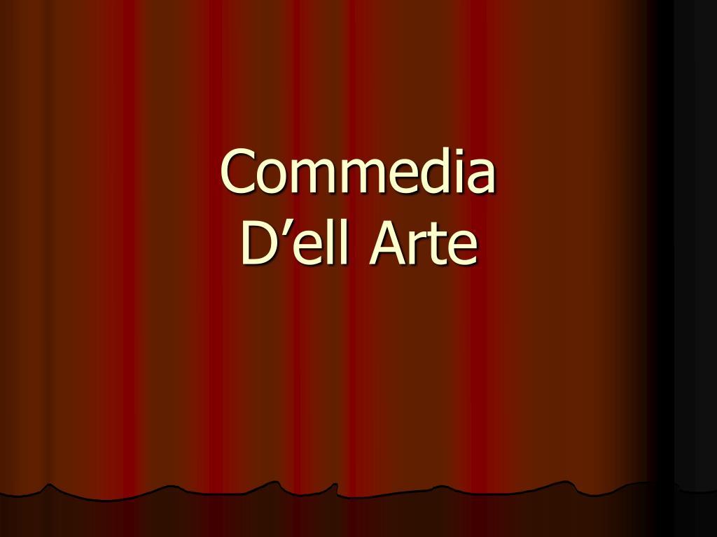 Commedia