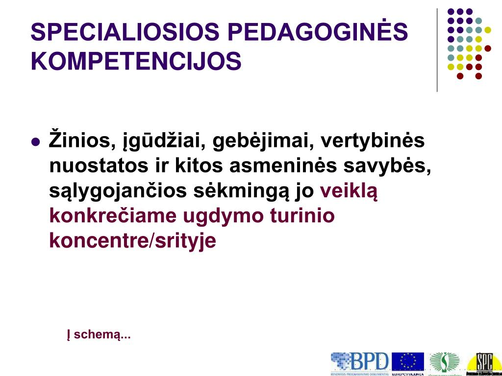SPECIALIOSIOS PEDAGOGINĖS