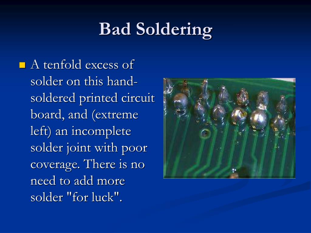 Bad Soldering