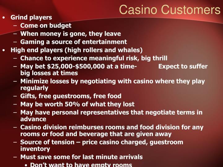 Casino Customers