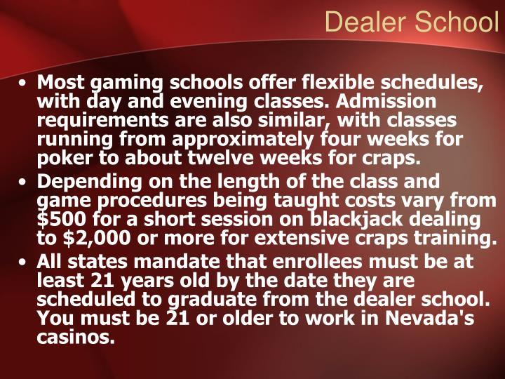 Dealer School