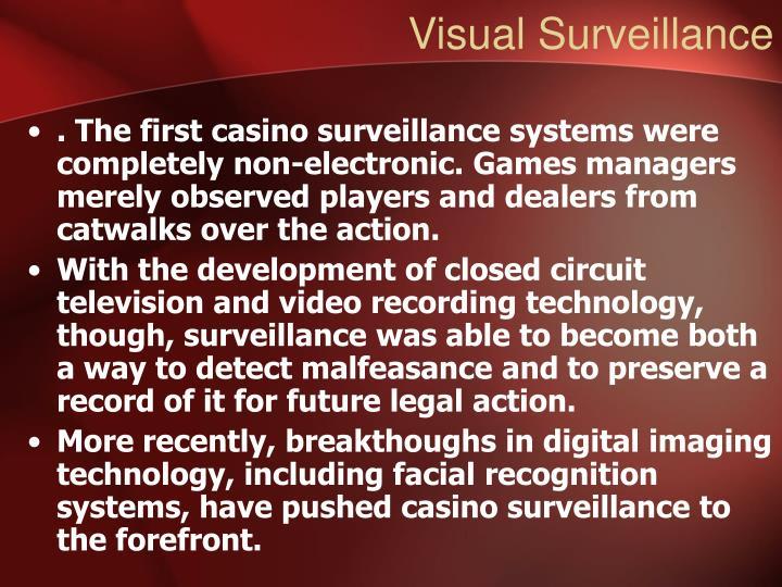 Visual Surveillance