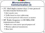 microcontrollers communication 2