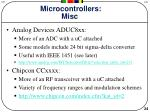 microcontrollers misc