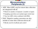 microcontrollers peripherals 2