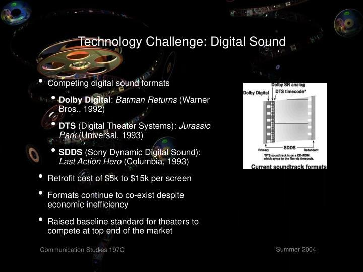 Technology Challenge: Digital Sound