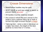 crosse dimensions29