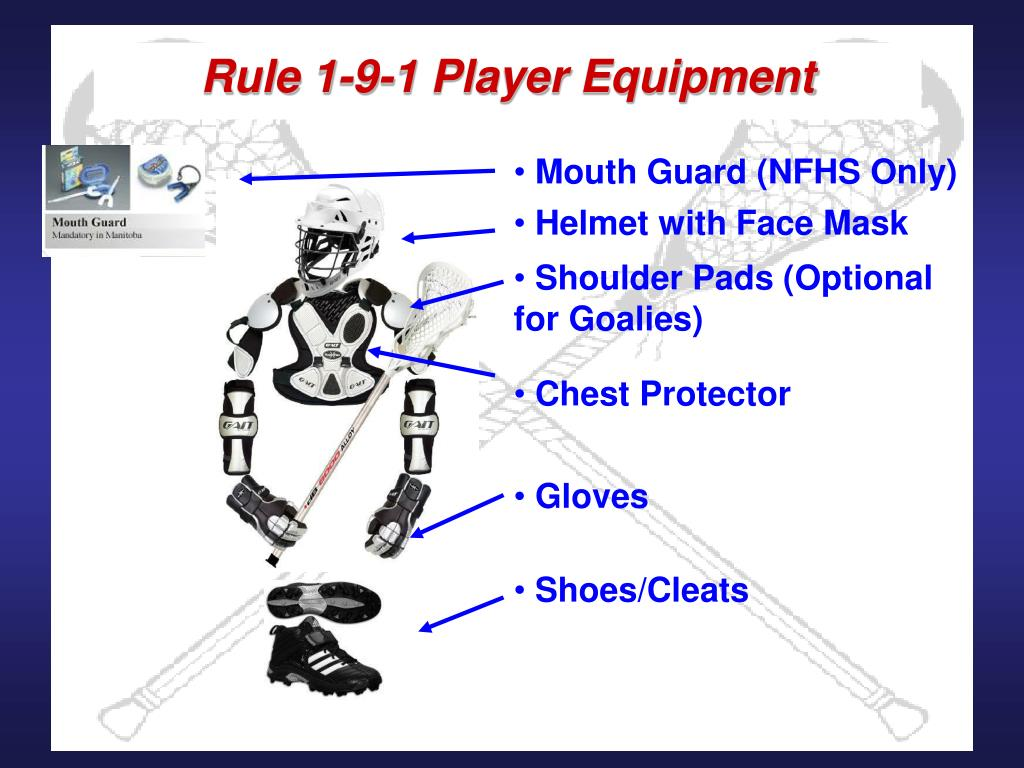 Rule 1-9-1 Player Equipment