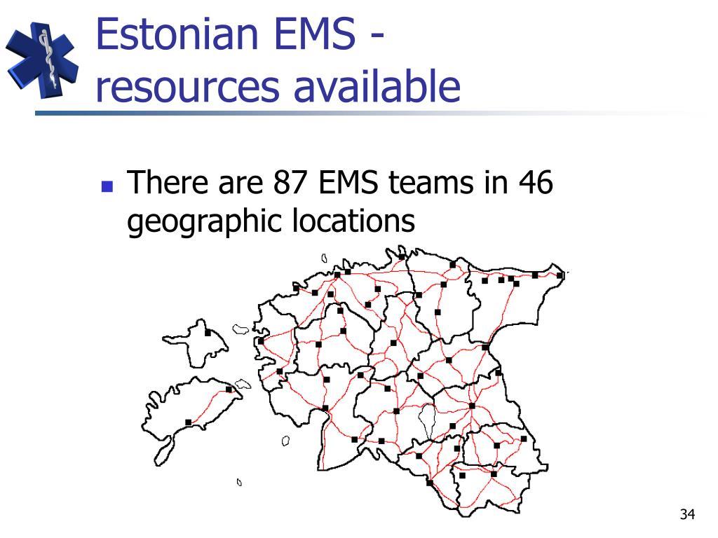 Estonian EMS -