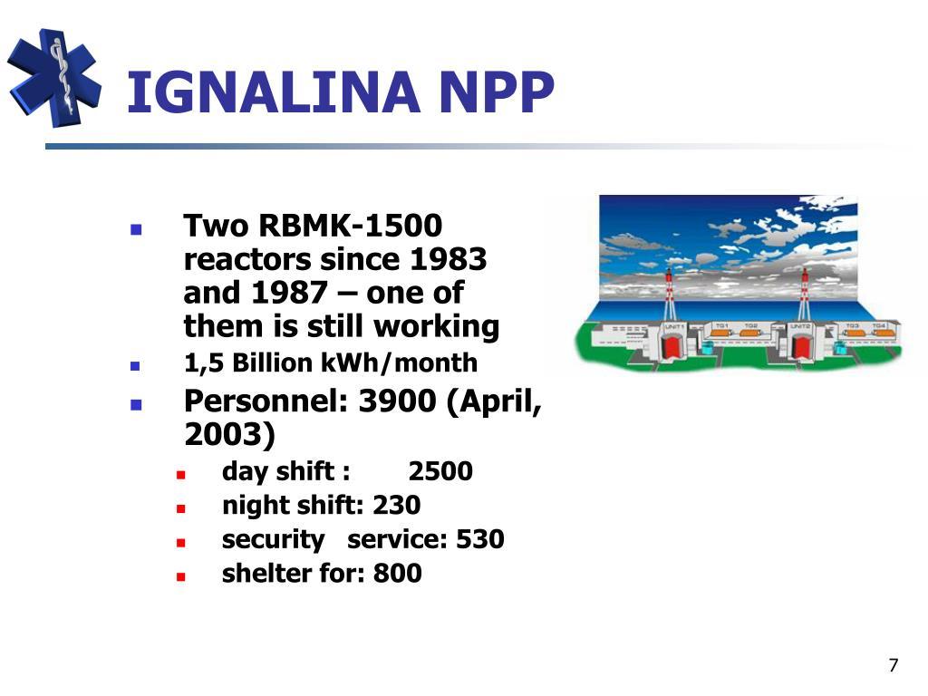 IGNALINA NPP