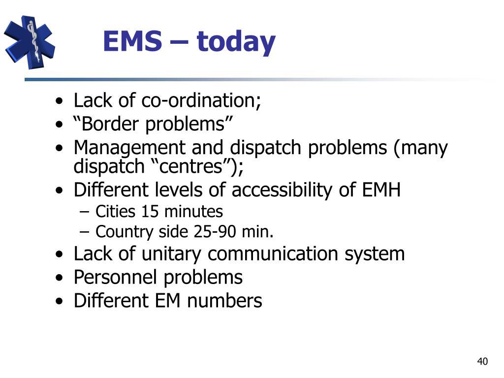 EMS –
