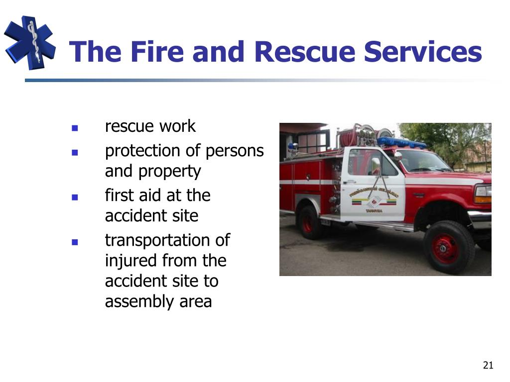 The Fire and Rescue Services