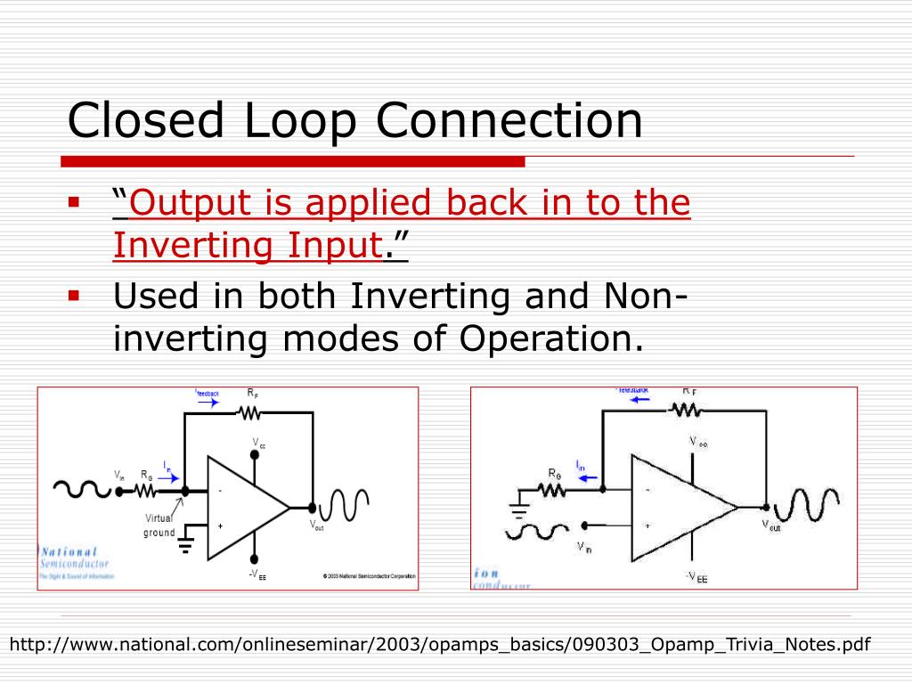 Closed Loop Connection