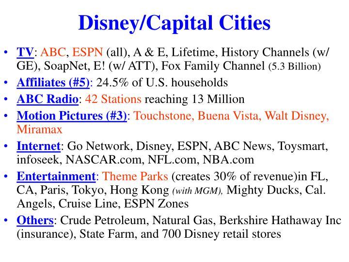 Disney/Capital Cities