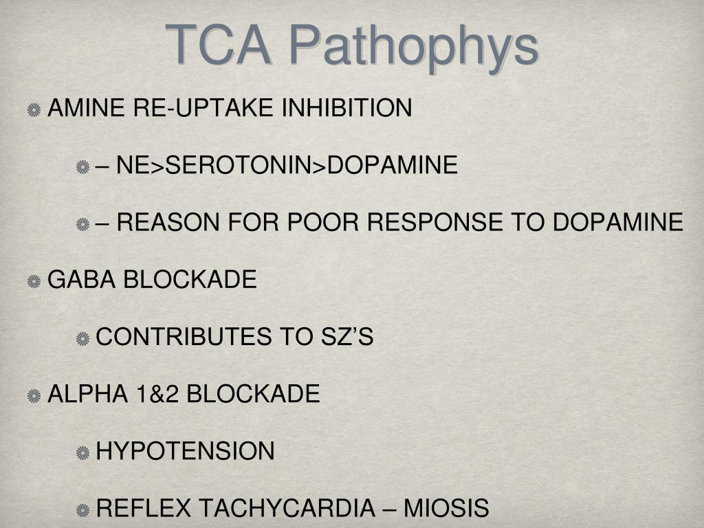 TCA Pathophys