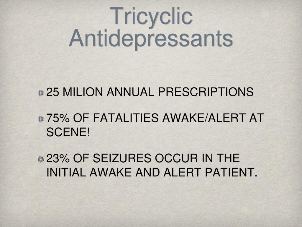 Tricyclic Antidepressants