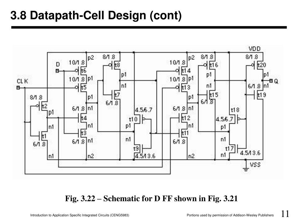 3.8 Datapath-Cell Design (cont)