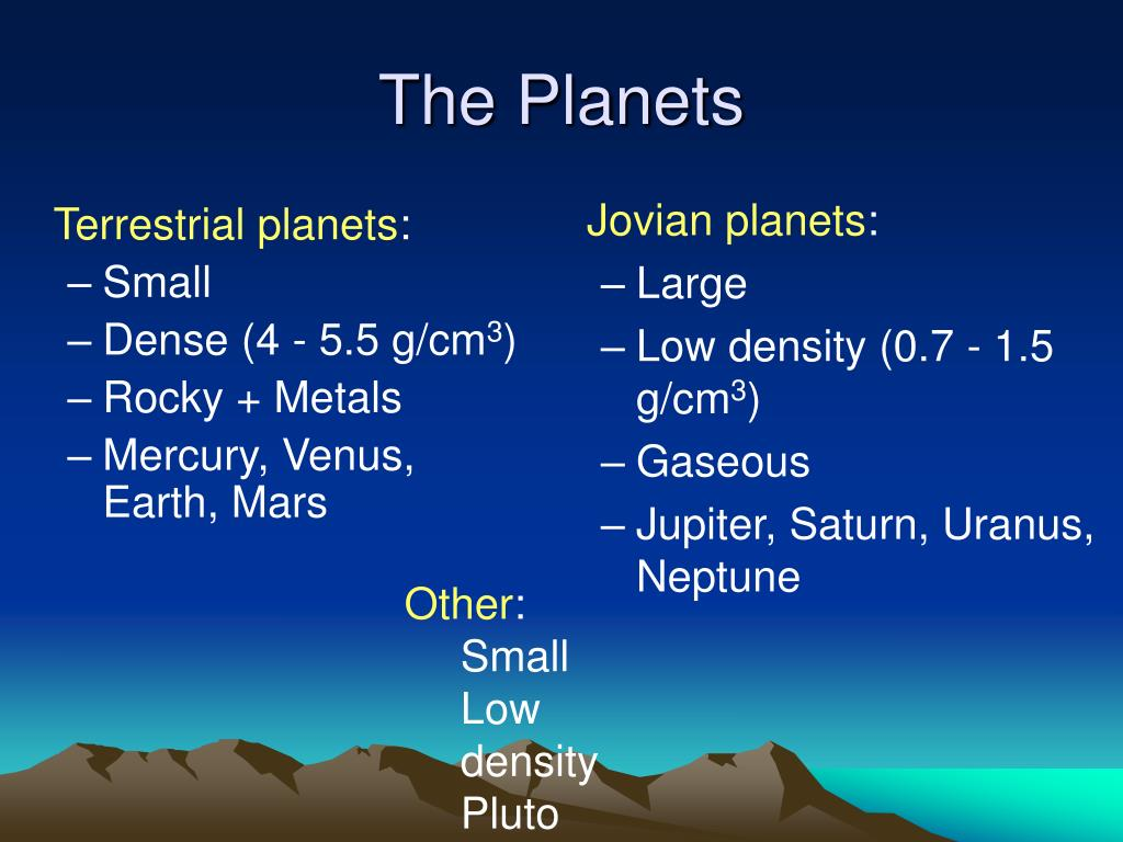 jovian planets density - photo #27