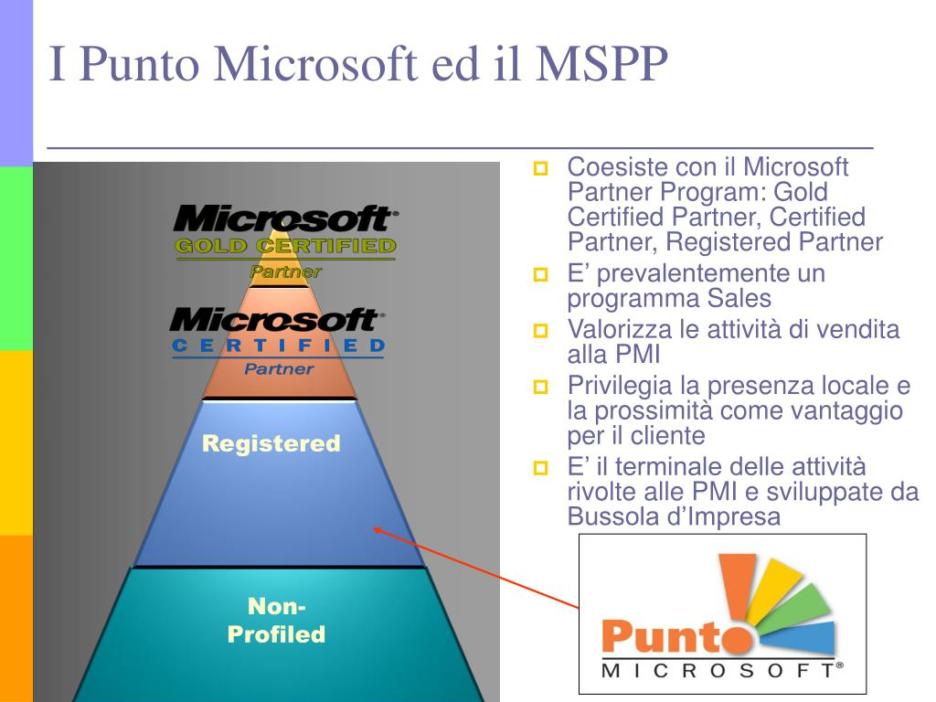 Coesiste con il Microsoft Partner Program: