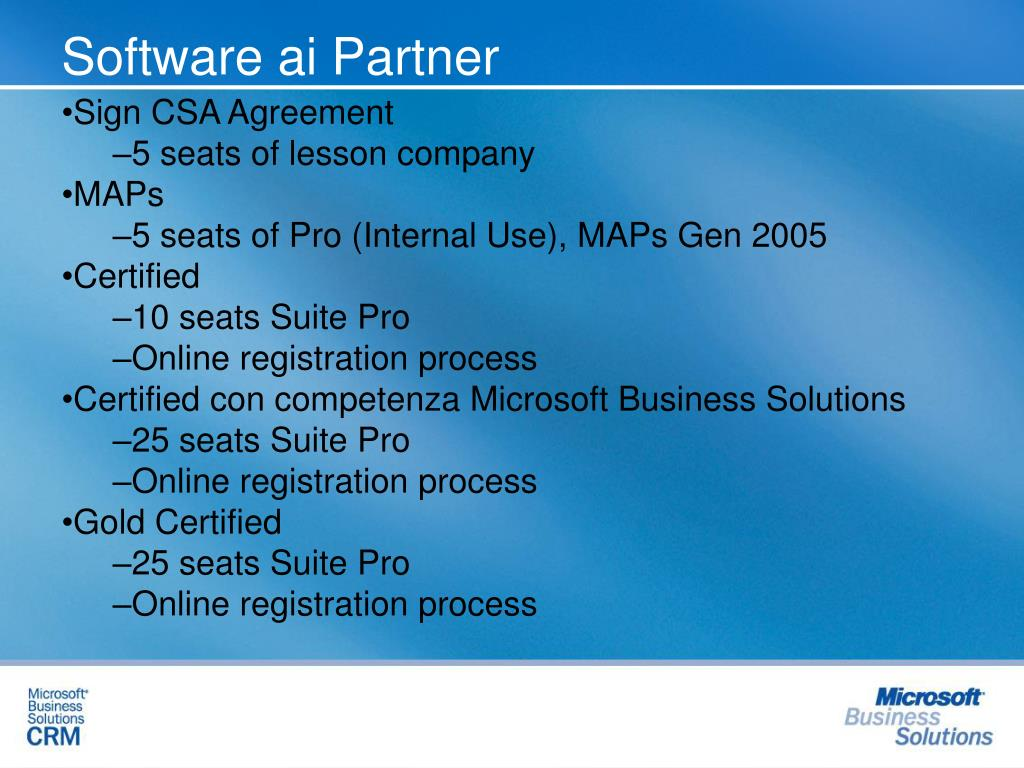 Software ai Partner